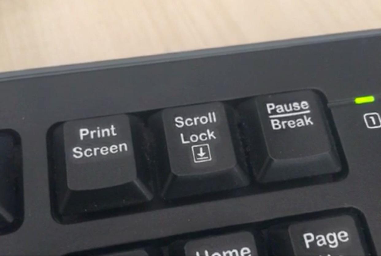 Как сделать print screen не кнопкой